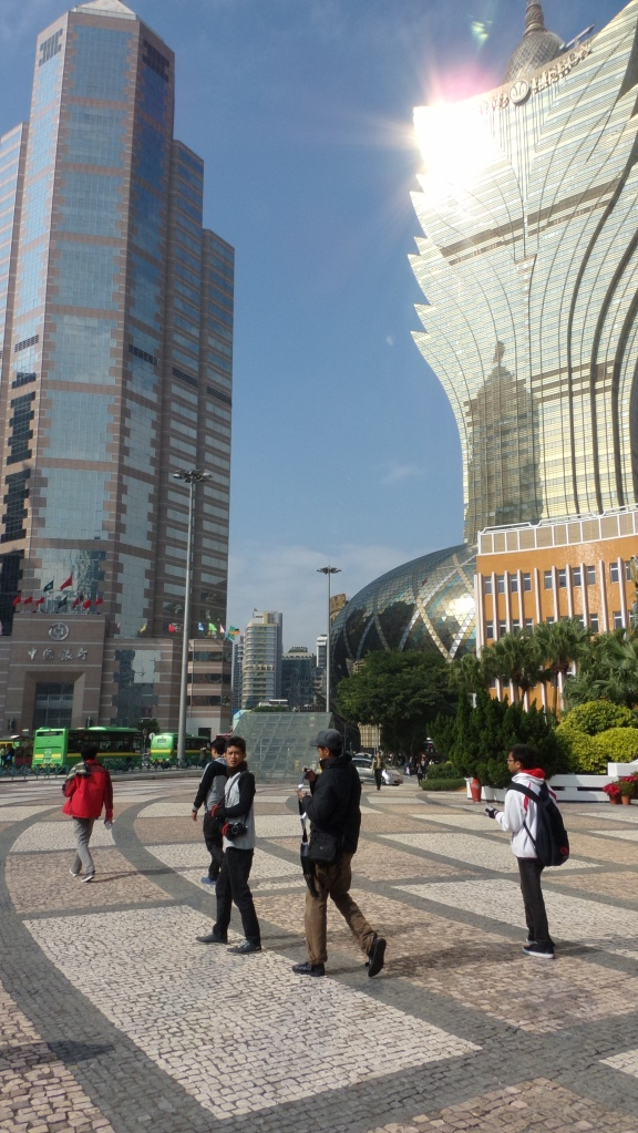 Macau's Skycraper- Grand Lisboa